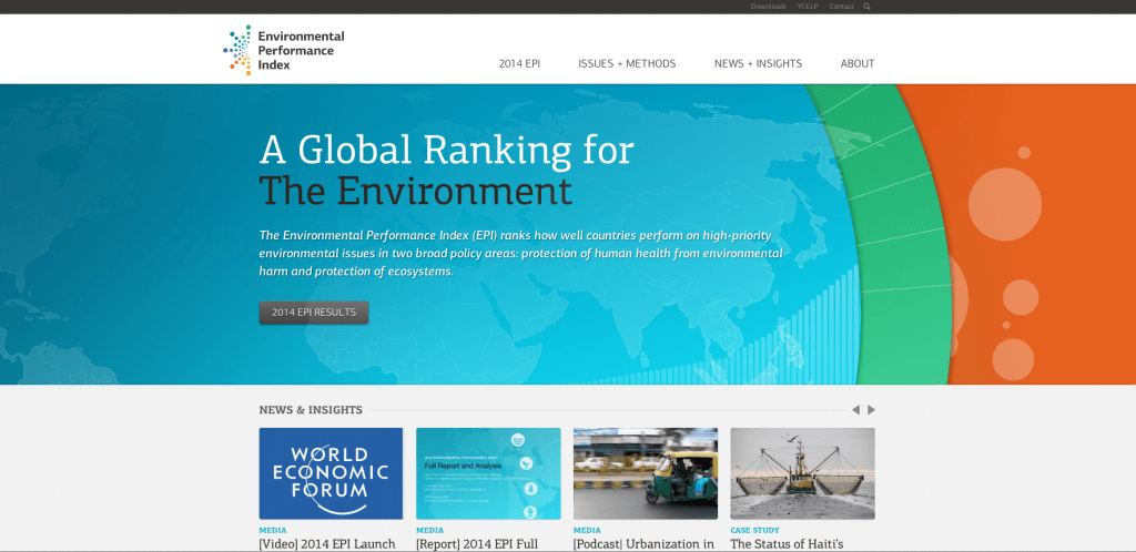 Launch of the 2014 Environmental Performance Index