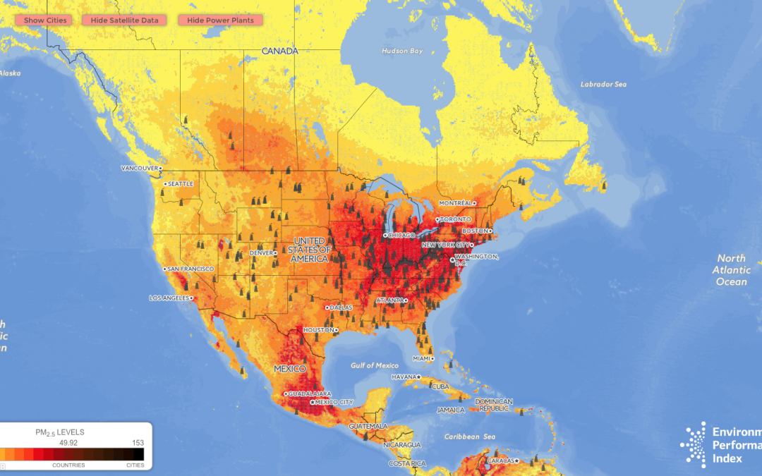 How Dirty is Your Air? This Map Shows You