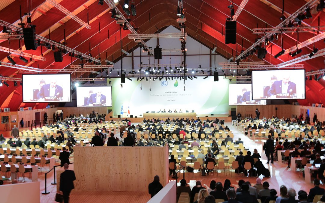 Data-Driven Yale at COP-21