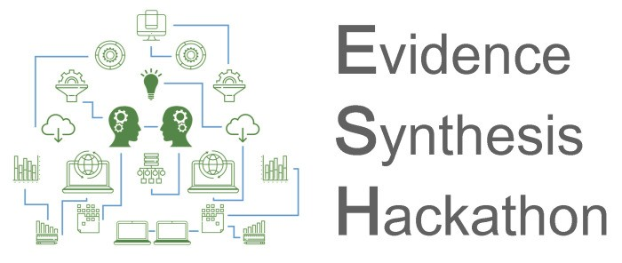 Bridging Data Science and Meta Analysis at the Evidence Synthesis Hackathon