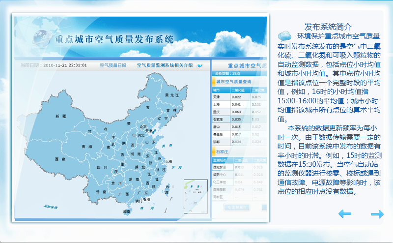 Real-time, hourly air quality data in China now available