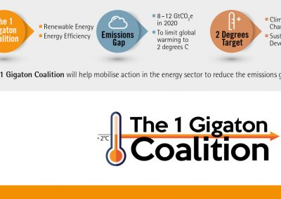 1 Gigaton Coalition: Renewable Energy & Energy Efficiency in Developing Countries