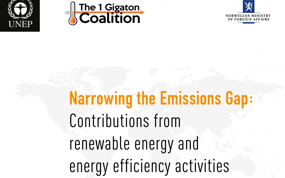 1 Gigaton Coalition Launches Inaugural Report, Yale Researchers Lead Authors
