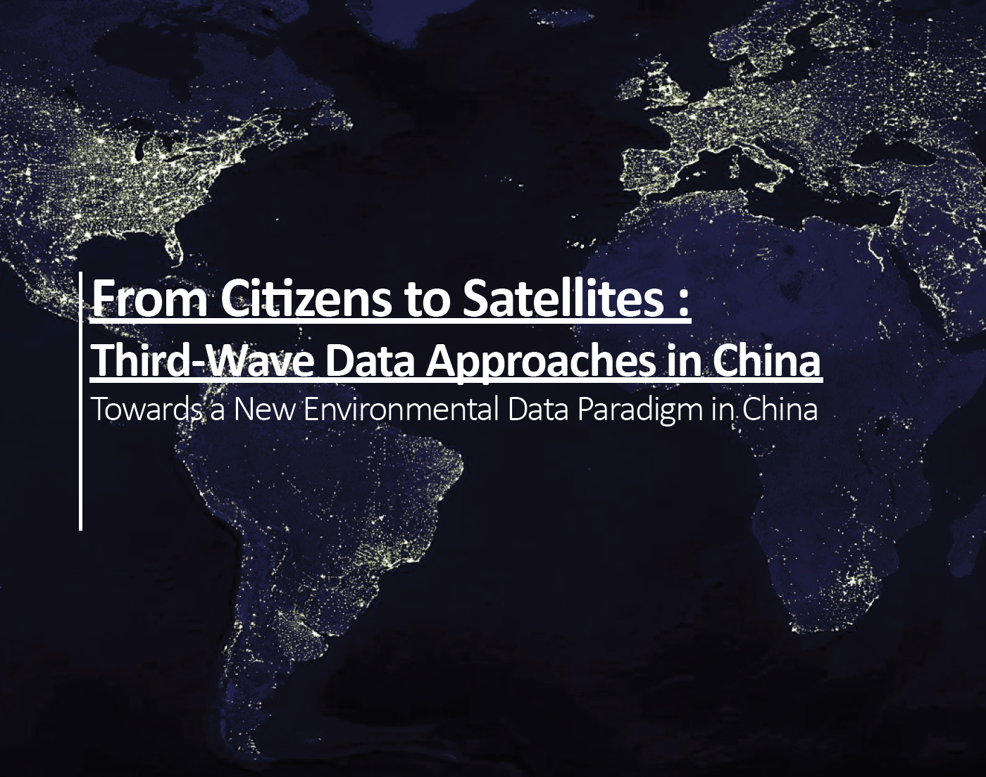 From Citizens to Satellites: Third-Wave Data Approaches in China