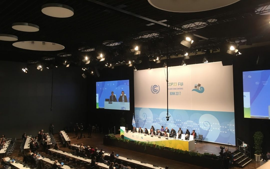 Is China ready to take up a global climate action leadership role? Observations from Bonn