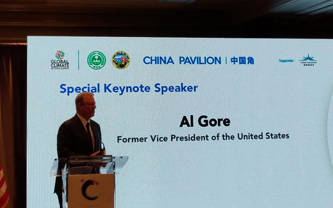 California Climate Summit Reaffirms Bilateral Relationship with China