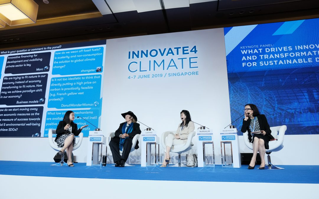 Innovate4Climate: What drives innovation for climate and sustainable development?