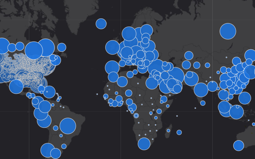 Visualizing a Pandemic with Geospatial Data: Yale's COVID-19 Mapping Project
