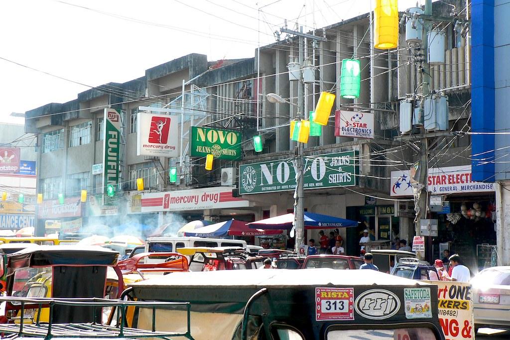 Street Scene, Santiago City Philippines